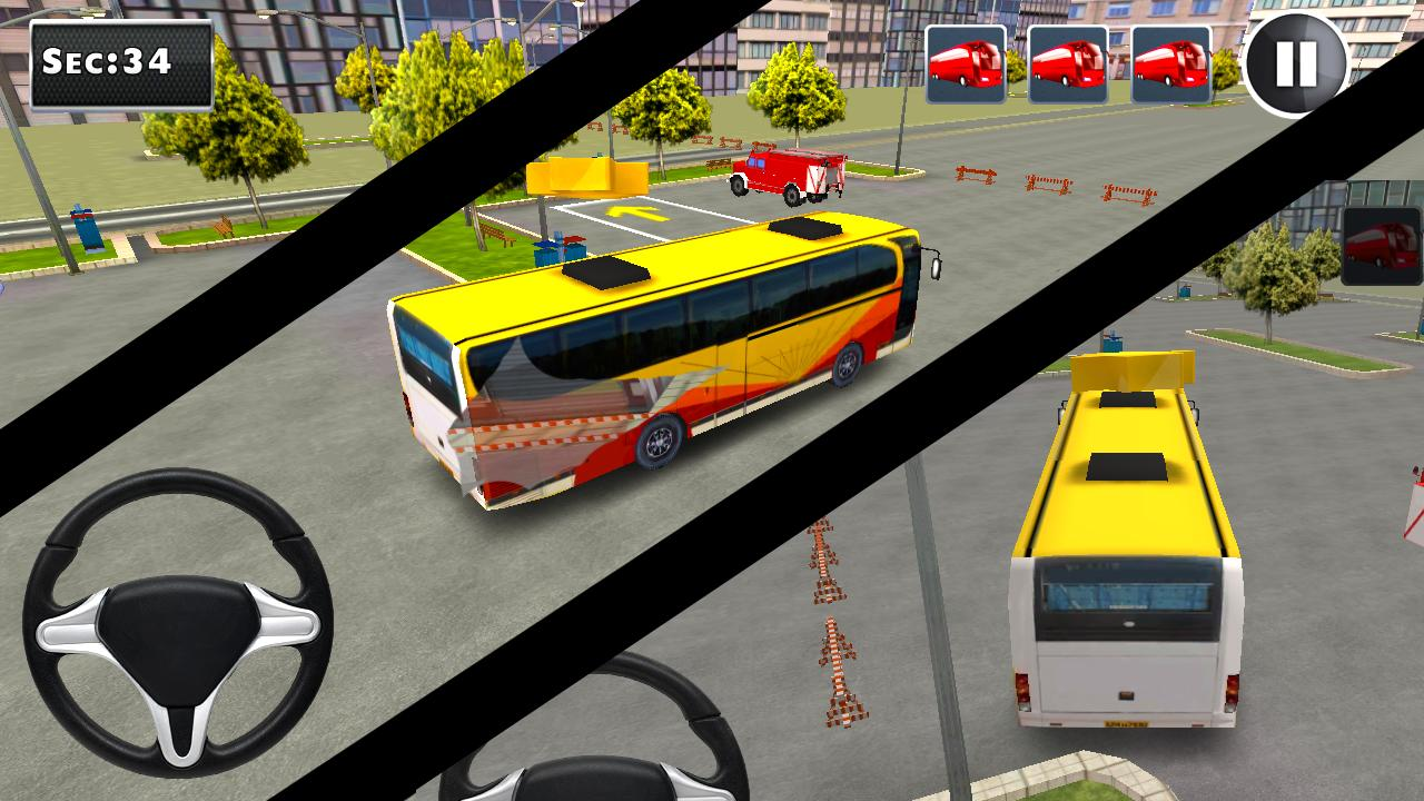 3D Bus Parking- screenshot