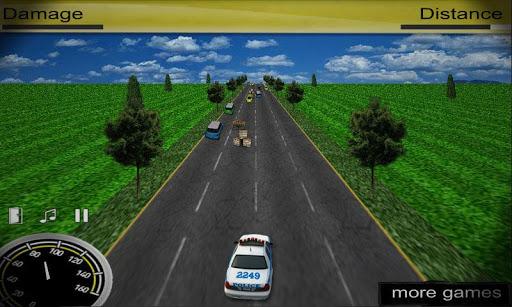 3D 경찰 러쉬