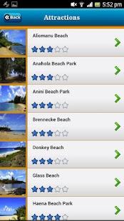 Kauai-Hawaii Offline Map Guide - náhled