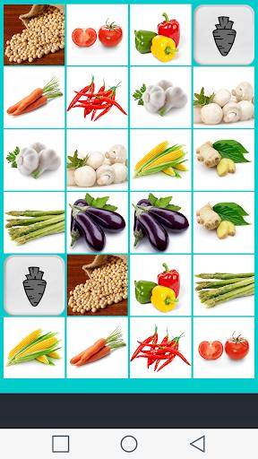 無料解谜Appの野菜記憶ゲーム 記事Game