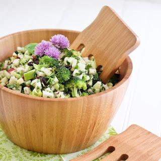 Crunchy and Refreshing Kohlrabi Salad.