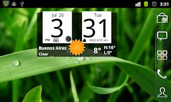 Screenshot of FlipClock Nice Clean