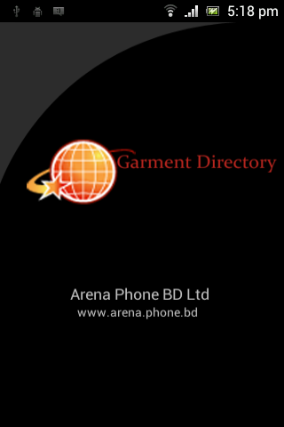 Garment Directory- screenshot