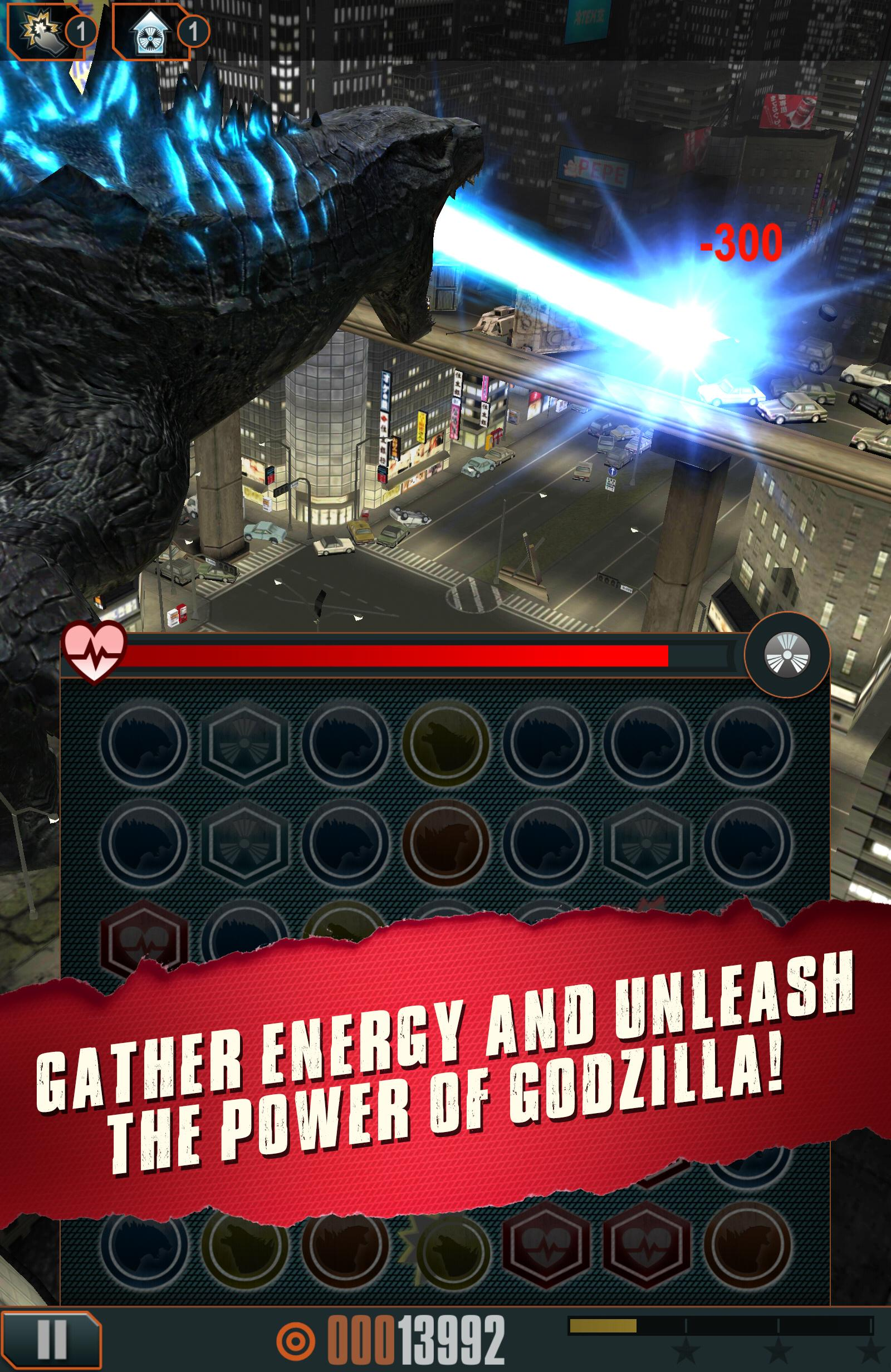 Godzilla - Smash3 screenshot #11