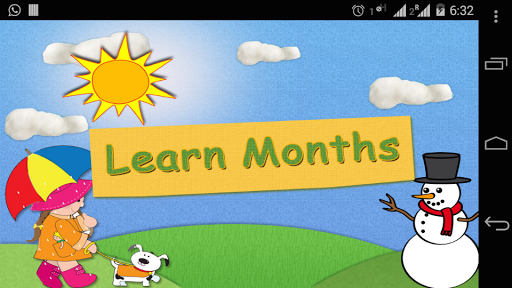 Learn Months With Fun