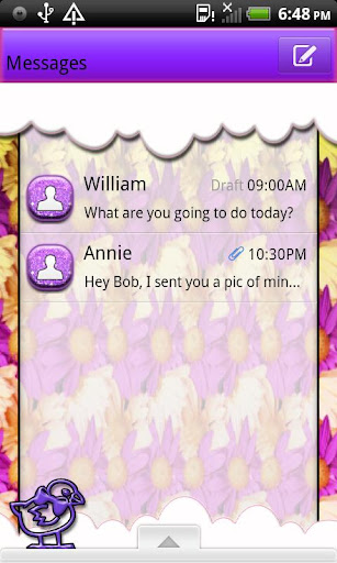GO SMS THEME EasterEggHunt4U3