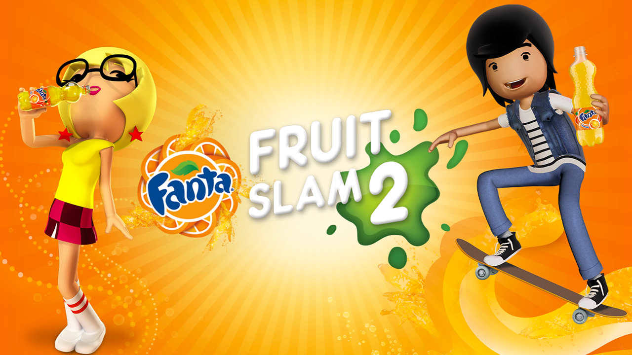 Fanta Fruit Slam 2 - screenshot
