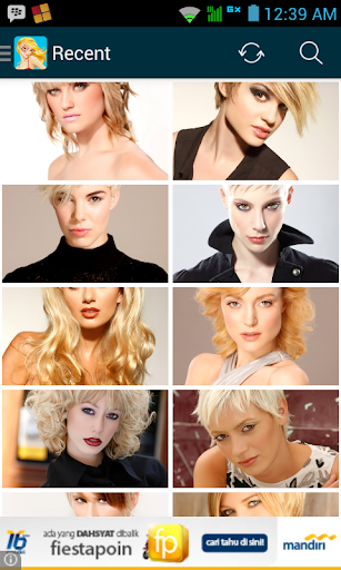 Trendy Hairstyles Collection