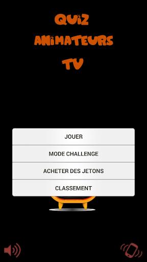 Quiz Animateur TV