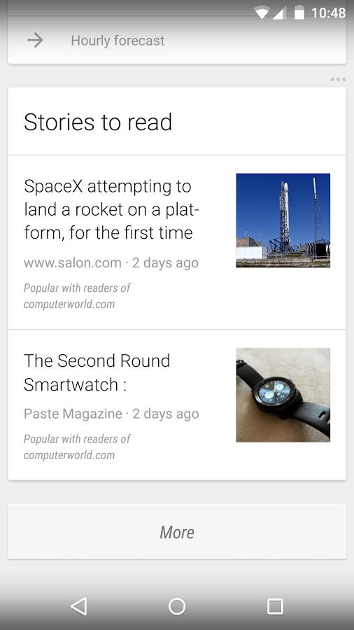 Google: captura de pantalla