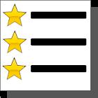 Gold Stars icon