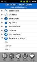 Screenshot of Amsterdam - Travel Guide