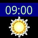 시계와 날씨 위젯 icon