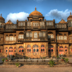 VIJAY-VILAS PALACE by Mohan Matang - Buildings & Architecture Statues & Monuments ( Architecture, Ceilings, Ceiling, Buildings, Building )