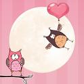 Galaxy S4 Love Birds Wallpaper icon