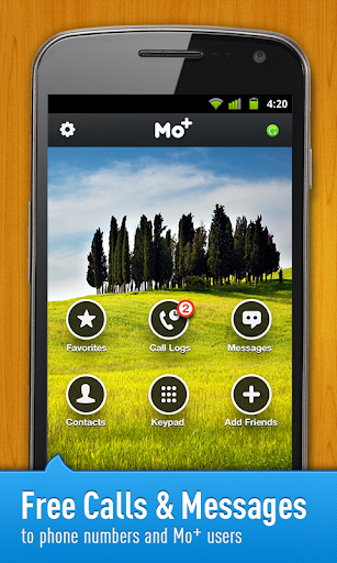 Free Calls & Text by Mo+ screenshot