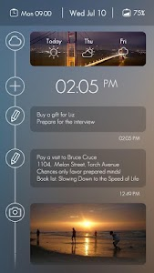 Timeline GO Locker Theme v1.00