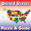 United States Puzzle and Guide icon