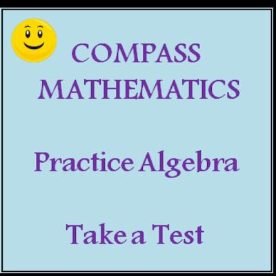 Algebra/Compass math