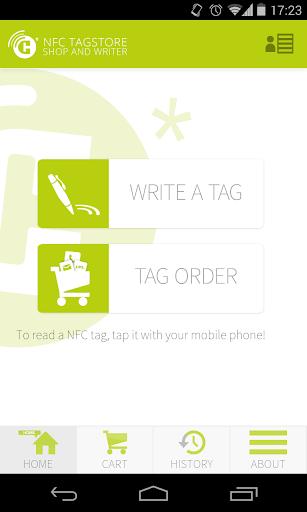 NFC TAGSTORE WRITER