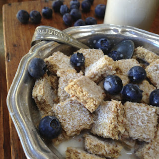 Raw Shredded Coconut Biscuit Cereal