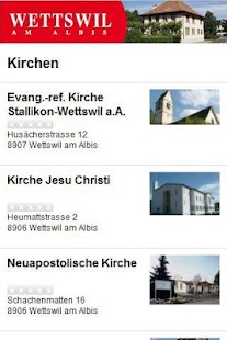 Cityguide Wettswil am Albis - screenshot thumbnail