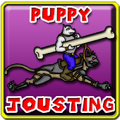 Puppy Jousting