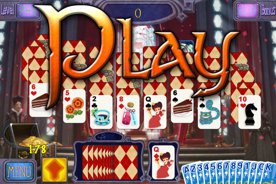 Alice Solitaire - screenshot