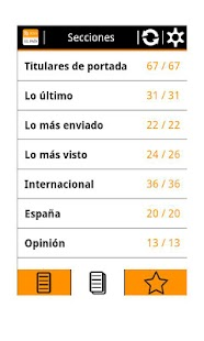 RSS El País- screenshot thumbnail