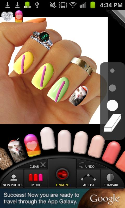 Virtual Nail Salon- screenshot