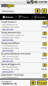 LocalScout Yellow Pages screenshot 3