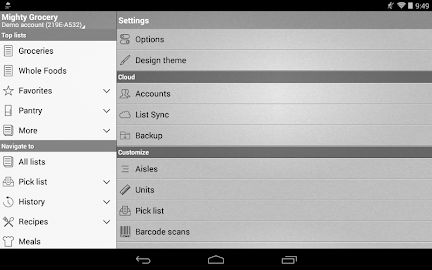 Mighty Grocery Shopping List Screenshot 20