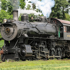 Strasburg Railroad by Sharon Horn - Uncategorized All Uncategorized ( steam engine, train engine, steam train, railroad, train, steam )