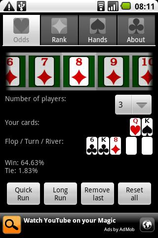 Poker Assistandroid - screenshot