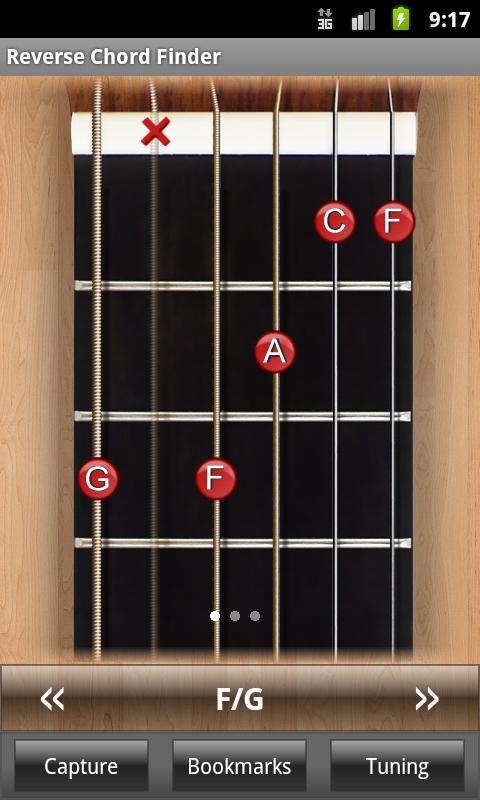 Reverse Chord Finder Free- screenshot