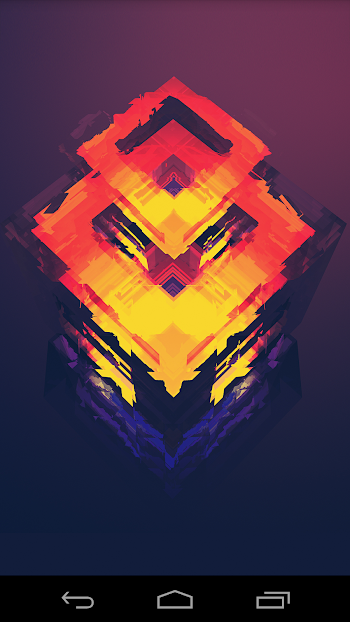 Facets - with Muzei - screenshot