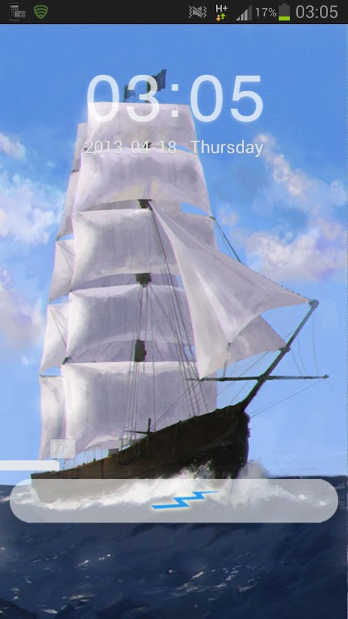 GO Locker Theme Sea Ship - screenshot