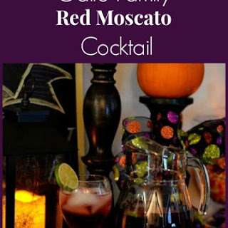 Gallo Family Red Moscato Cocktail.