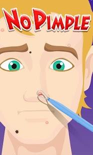 No Pimple - Fun games