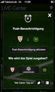 Fussball Live Ticker Herzrasen - screenshot thumbnail