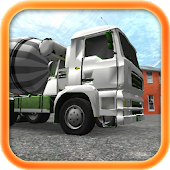 Construction Truck Parking 3D