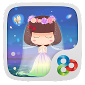 Wedding Dress GOLauncher Theme