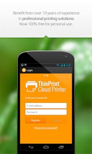 ThinPrint Cloud Printer - screenshot thumbnail