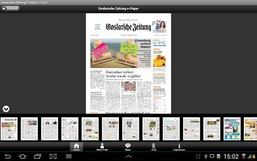 【免費新聞App】Goslarsche Zeitung e-Paper-APP點子