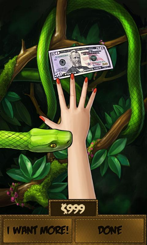 Money or Death - snake attack! - screenshot
