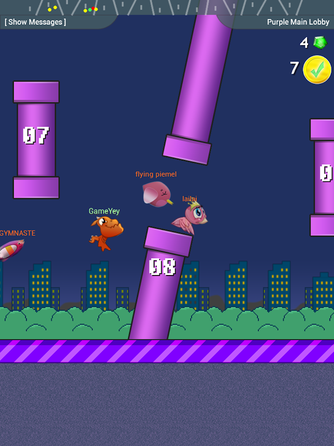 Flapping Birds - Online - screenshot