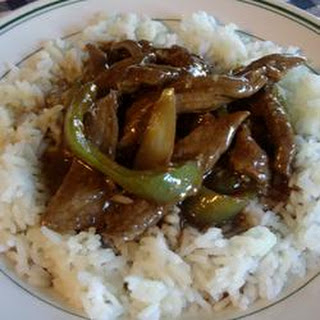 Pepper Steak.
