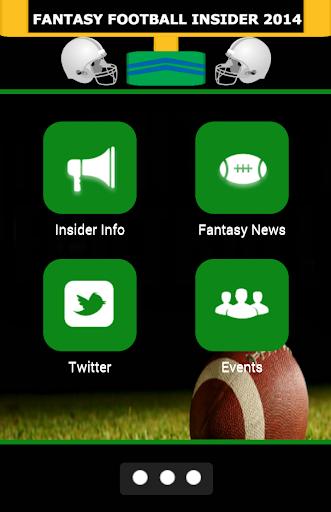 Fantasy Football Insider 2014