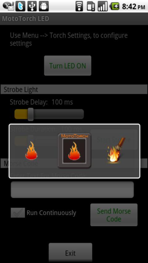 MotoTorch LED- screenshot