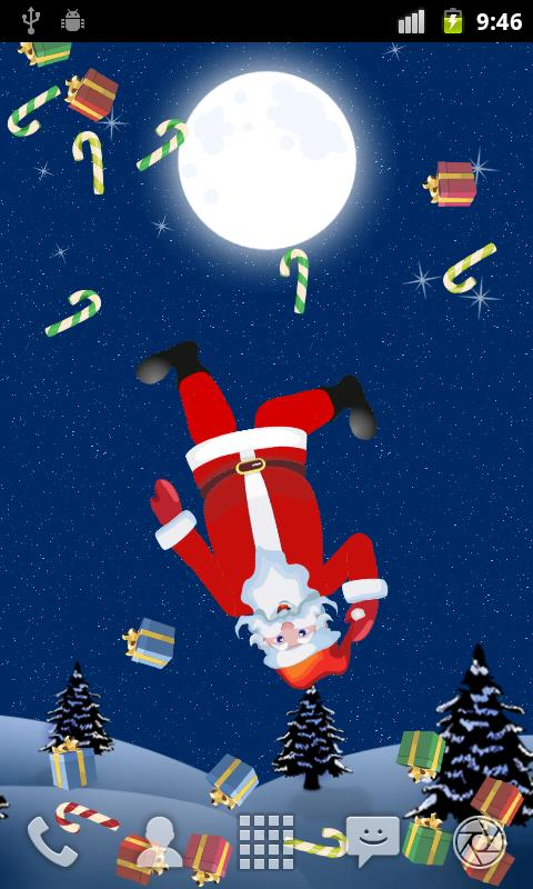 Santa Dummy LiveWallpaper LITE - screenshot